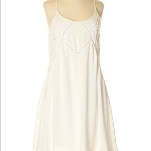 Casual white summer dress